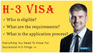 What Is H3 Visa Processing Time.
