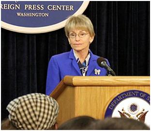 Assistant Secretary of the Bureau of Consular Affairs Janice Jacobs