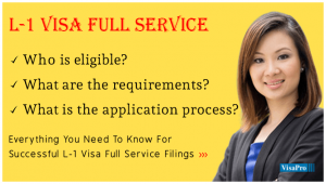How To Apply For L1 Visa Full Service To USA?