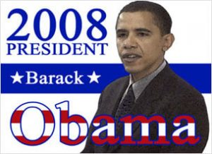 Barack Obama, An African-American, The 44th President of United States.