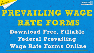 Download Prevailing Wage Rate Determination Forms Online.