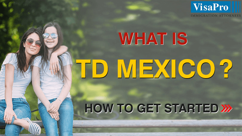 TD Visa Benefits And Procedure For Mexican Citizens.