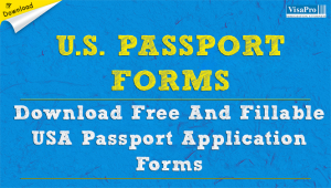 Download US Passport Application Form Online.