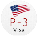 Check Out Client Reviews About Filing USA P3 Artist Visa Successfully.