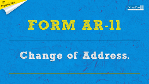 Download Free INS Form AR-11 Change Of Address Instructions.