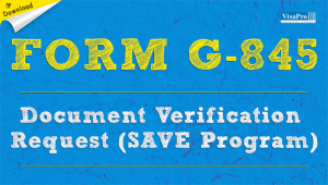 Download Free INS Form G-845 Document Verification Request Instructions.