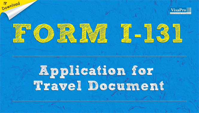 Form I 131 Application For Travel Document Free Download