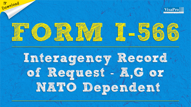 USCIS Form I-566 - A1, A2, G1, G3, G4 or NATO Dependent Employment ...