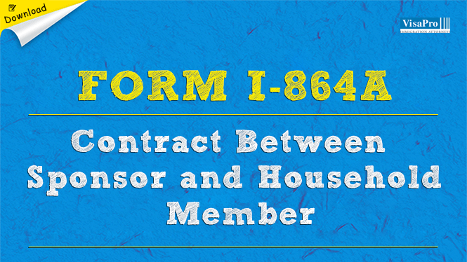 Form I 864a Contract Between Sponsor And Household Member Free Download
