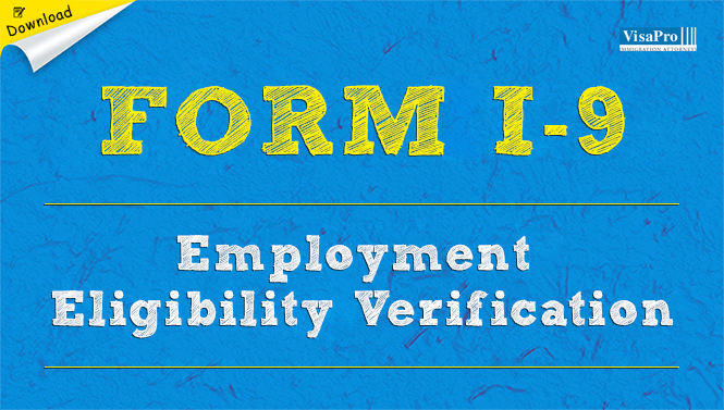 Form I 9 Employment Eligibility Verification Free Download