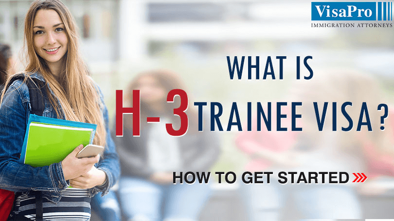 How To File H3 Trainee Visa To USA.