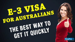 How To Get An E3 Visa For Australian Citizens