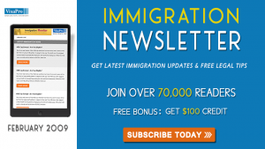 Get February 2009 US Immigration Updates.