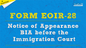 Download EOIR-28 Form Instructions.