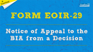 Download Free Form EOIR-29 Instructions.