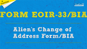 Download Alien's Change Of Address Form EOIR-33.