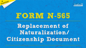 Download Free Immigration Form N-565.