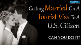 How To Get Married To US Citizen On Tourist Visa