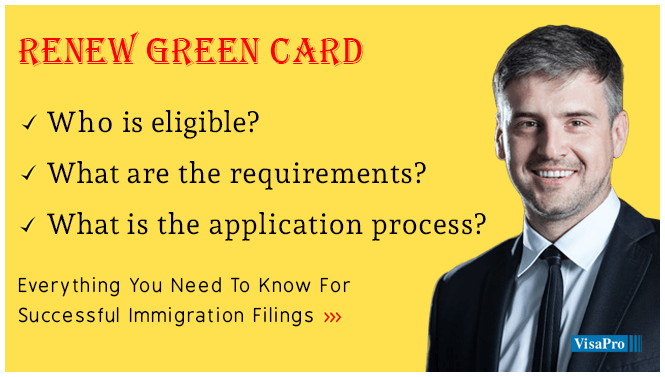 Renew My Green Card, Processing Time & More