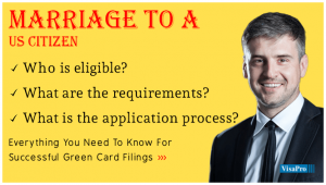 How To Get A Green Card By Marriage To A US Citizen.