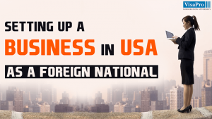 Requirements For Setting Up A Business In USA As A Foreign National