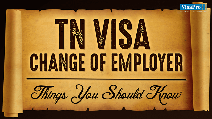 TN Visa Change of Employer: Things You Should Know