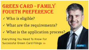 US Citizen Filing Green Card For A Brother or Sister.