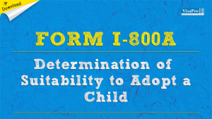 Download Free Form I-800A Application To Adopt A Child.