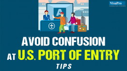 Tips To Minimize Avoiding Confusion At US Port Of Entry.