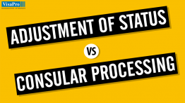 Green Card Through Adjustment Of Status vs. Consular Process