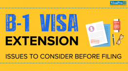 Things To Consider Before Filing For A B-1 Visa Extension.