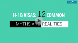 All About H1B Visas Myths And Realities