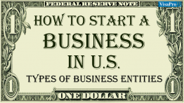 Types Of Business Structure To Setup A Business In The US.