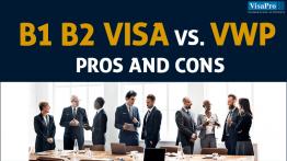 Pros & Cons of B1 B2 Visa vs. US Visa Waiver Program.