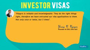 Client Testimonials About US Investor Visa.