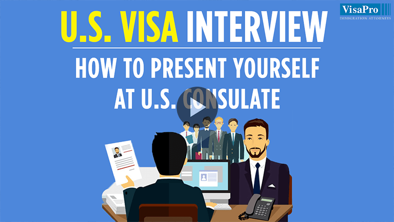 US Visa Interview Questions & Answers.