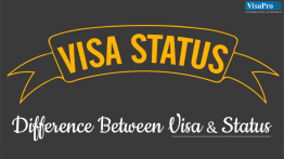 Differences Between Visa And Status.