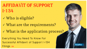 How To Fill Out Form I-134 Affidavit Of Support?