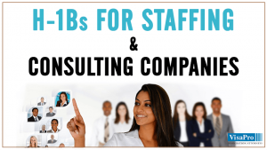 Employer Employee Relationship For H1B Staffing Companies.