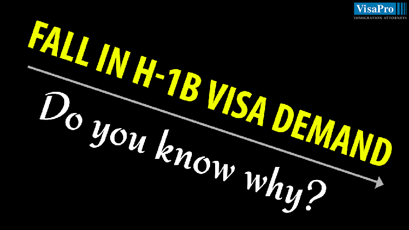 The Reasons For Fall In H1B Visa Demand.