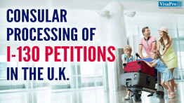 Form I-130 Petition For Alien Relative With DHS In London.