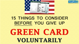 Things To Be Considered Before Giving Up US Green Card.