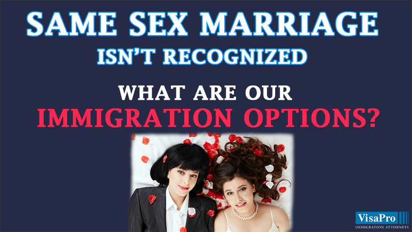 Where Is Same Sex Marriage Legal?