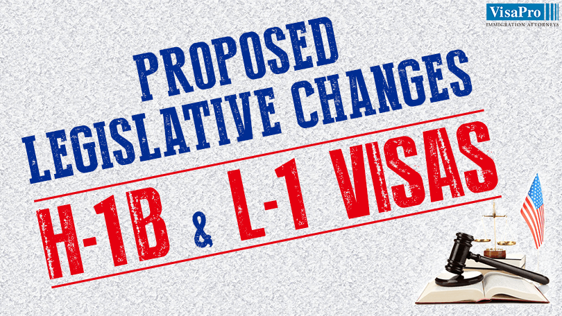 Impacts Of The Proposed Legislative Changes To H1B And L1 visas.