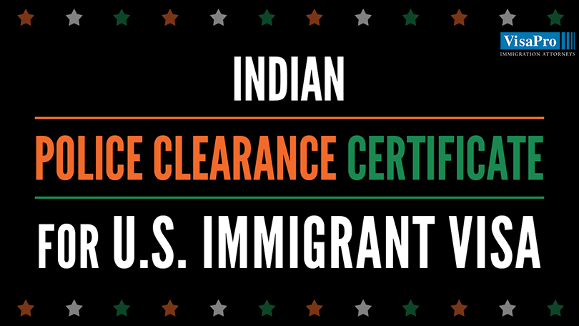How To Obtain Police Clearance Certificate In India For US