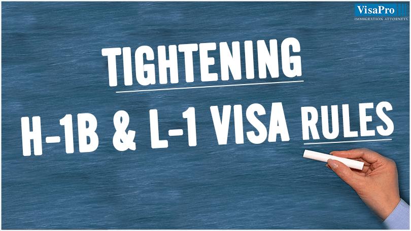 H1B & L1 Visa Rules: Impact On U.S. Businesses.