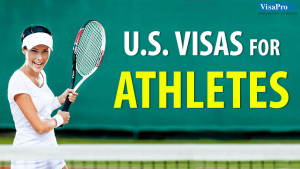 Visa Types For Foreign Athletes To Perform In The US.
