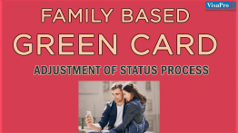 Obtaining A Family Based Green Card Through AOS Process.