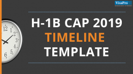 Download H1B Visa 2019 Timeline Templates