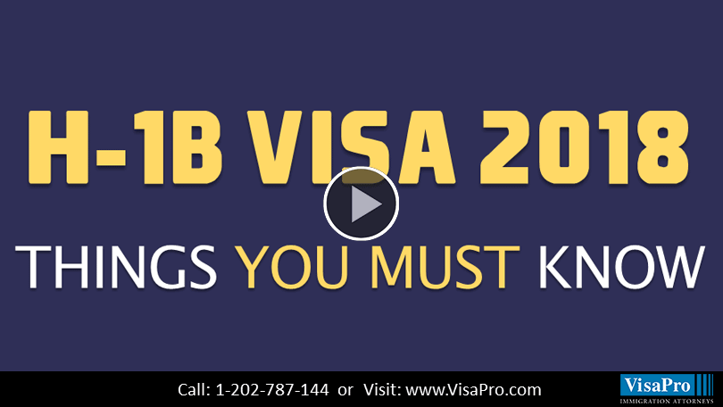 Find Out When H1B Visa Process Starts For 2018.
